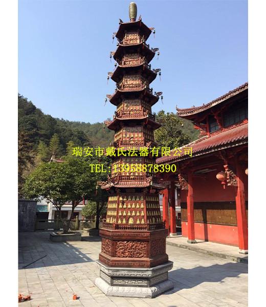 铸铁千佛塔七层千佛塔|实惠的铸生铁千佛塔寺庙七层千佛塔在温州有售