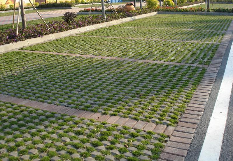 海南植草砖