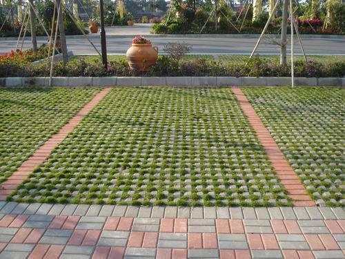 海口植草砖
