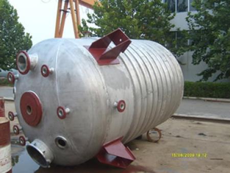 外盘半管式加热不锈钢反应釜