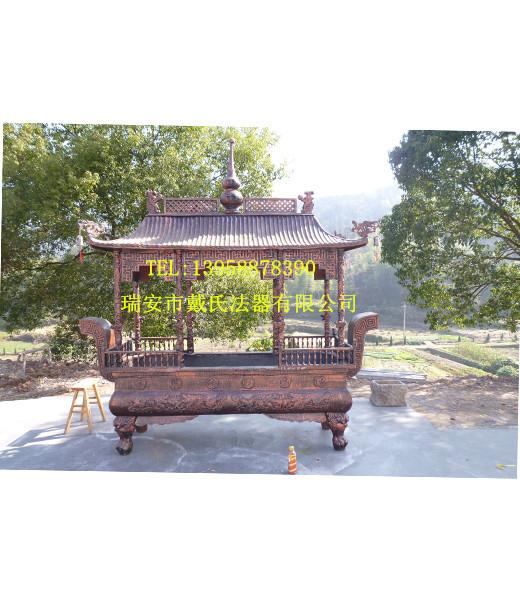 寺院插香炉|专业的铁香炉提供商—戴氏法器厂
