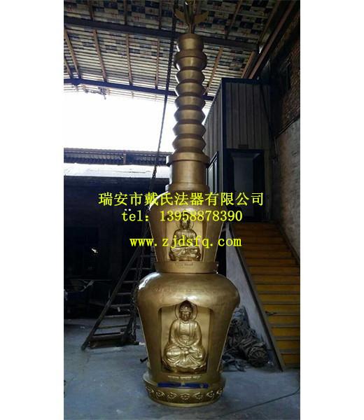 别致的铜塔刹戴氏法器厂优惠供应,安徽铜塔刹图片