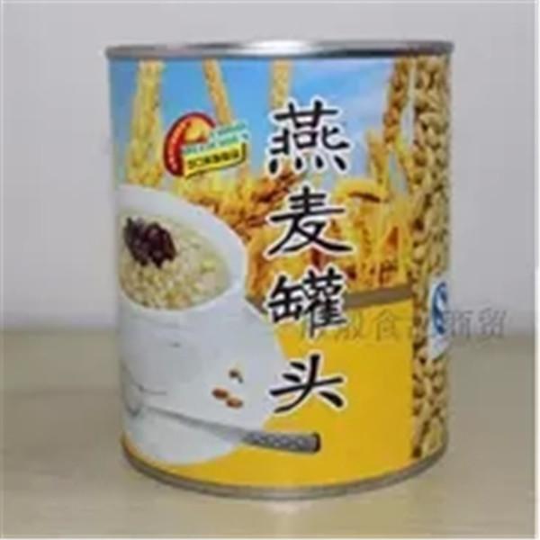 广村燕麦罐头燕麦粒酱奶茶甜品沙冰配料即食燕麦粒酱