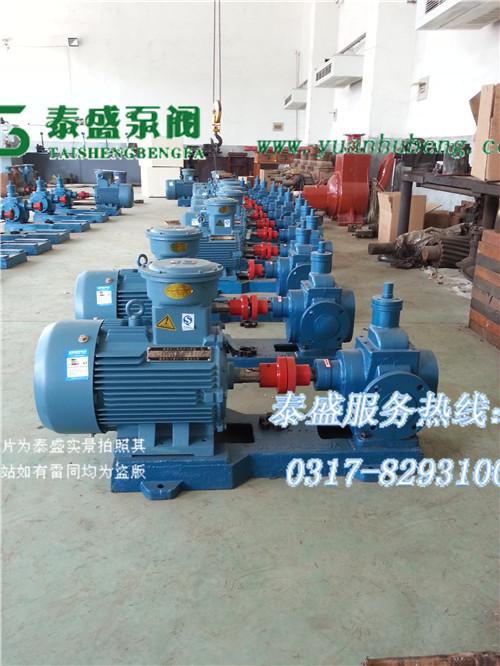 YCB圆弧泵 圆弧齿轮泵