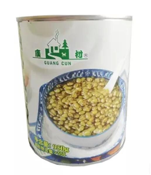 广村绿蜜豆 绿豆罐头 甜品奶茶饮品 咖啡奶茶原料批发