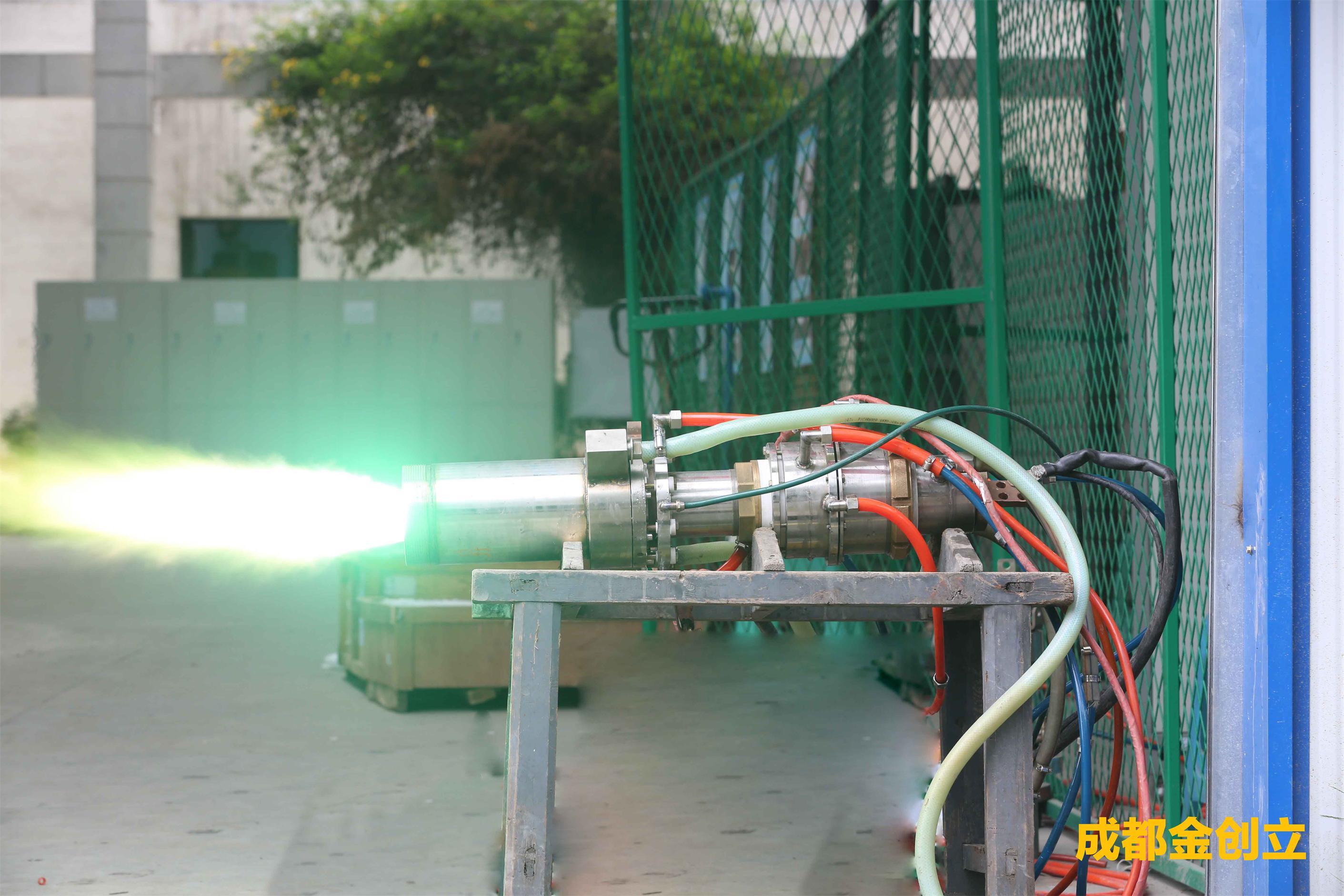 500KW大功率等离子发生器点火成功