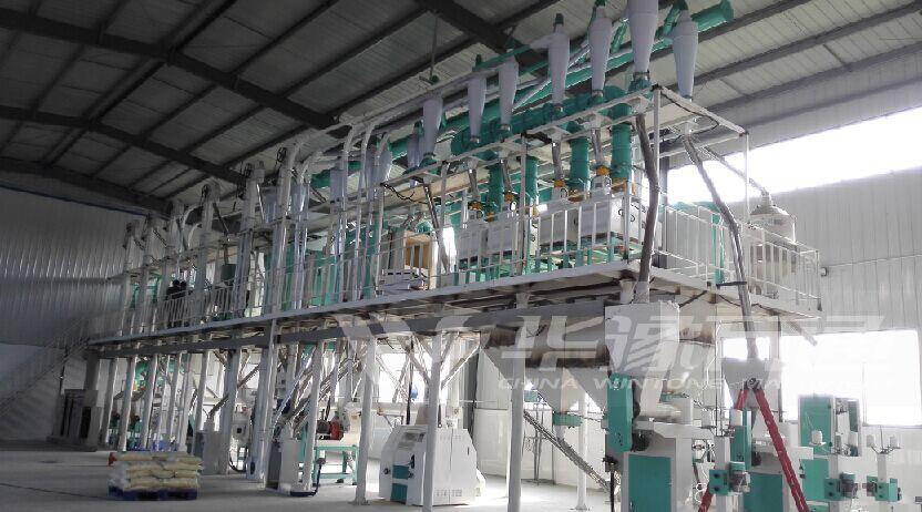 玉米制碴设备 30吨玉米制糁、制粉成套设备