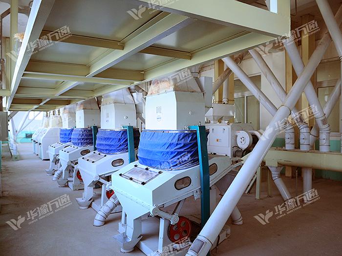 玉米碴加工成套设备 日产量加工300吨