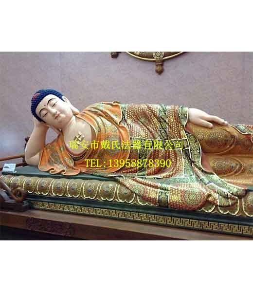 daishifaqi预售铸铜佛像铜雕佛像卧佛铜像