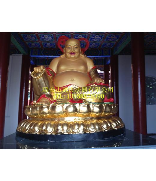 白城铜佛像雕塑厂,温州创意大肚弥勒佛供应