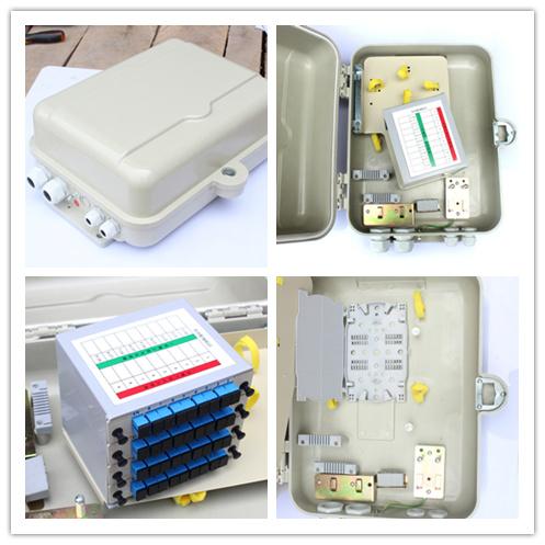 32芯光分路器箱价格——的西安一分16芯32芯光缆分纤箱厂家就是西安唯苑电讯设备