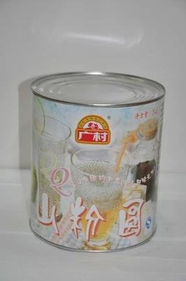 广村山粉圆罐头  明列子罐头  餐饮专用  兰香子罐头