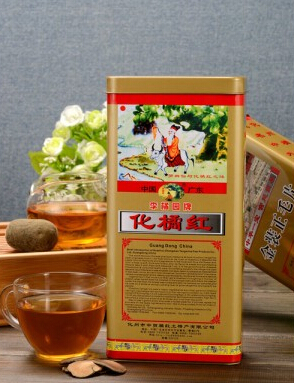 李橘园铁盒正毛橘红片1*6包