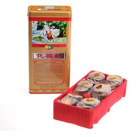 李橘园铁盒统毛橘红片1*6包