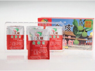李橘园久咳纸盒橘红丝1*20包*3g