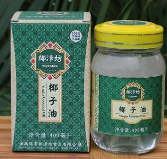 椰泽坊初榨椰子油