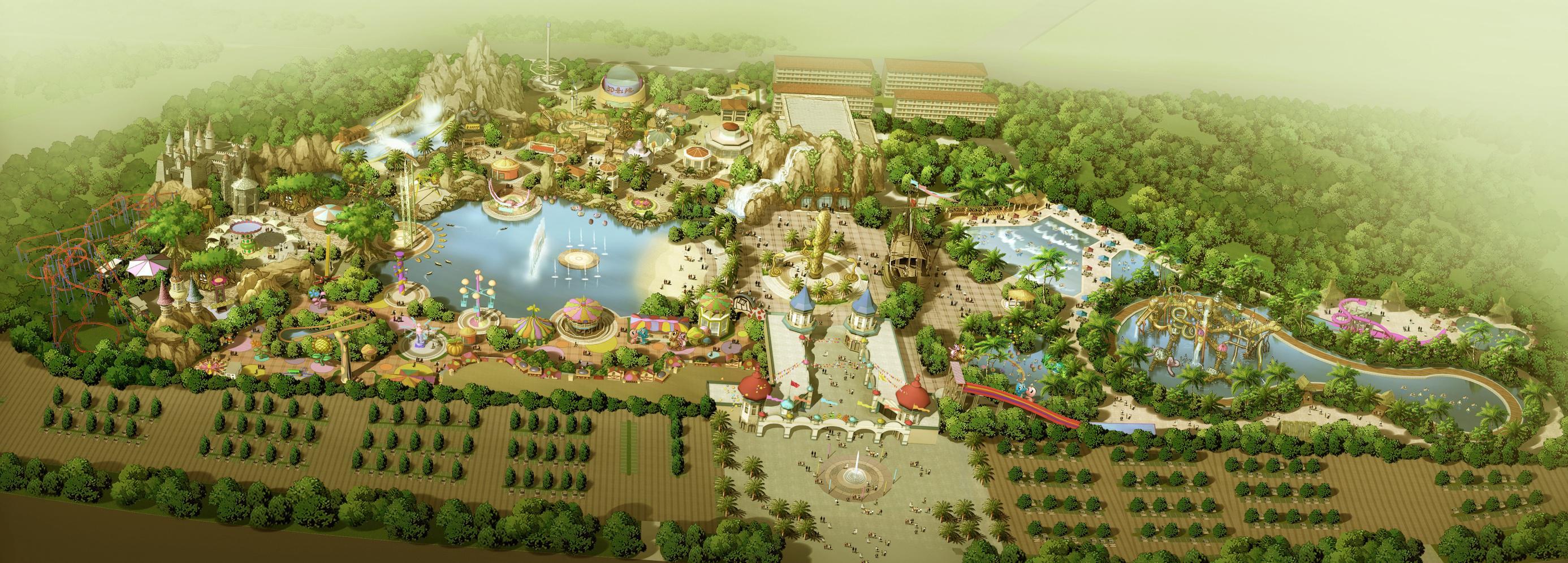 十大旅游策划深圳创艺园|主题公园|景观设计施工运营一站式服务