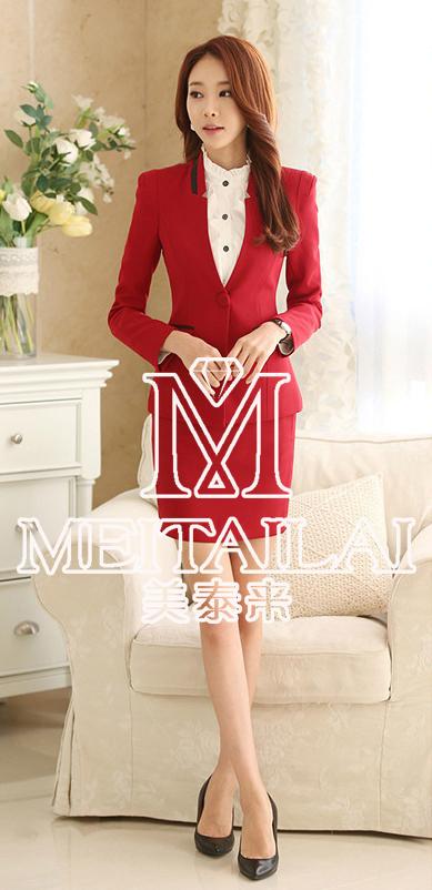 武侯职业装套装定做-成都职业女装选美泰来服饰