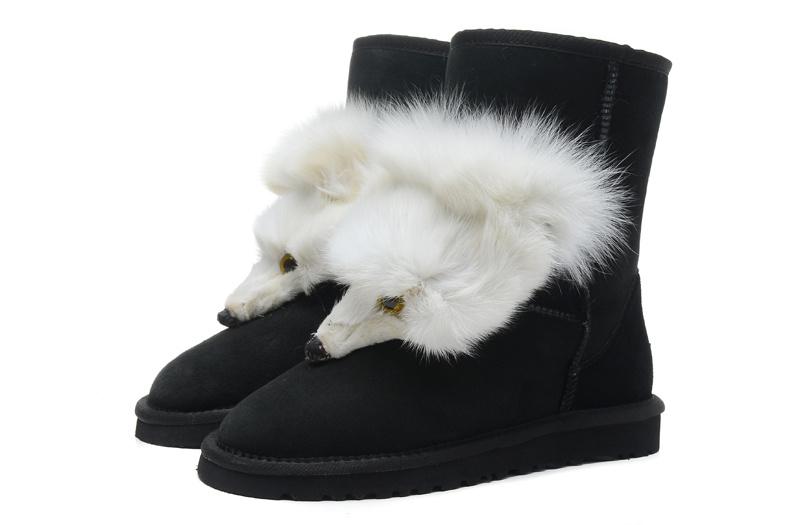 新款澳洲羊皮毛一体UGG雪地靴秋冬保暖棉鞋厂家直销招代理