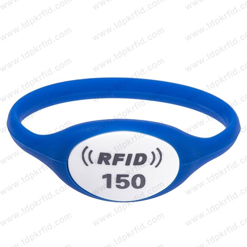 RFID硅胶腕带  RFID硅胶腕带厂家