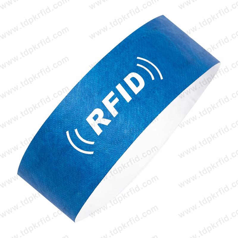 RFID一次性纸质腕带  RFID一次性纸质腕带厂家