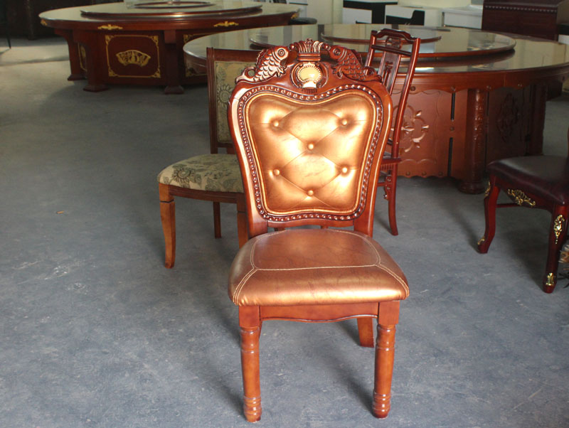 广西餐厅实木软包餐椅批发 奥祥家具餐椅生产制作