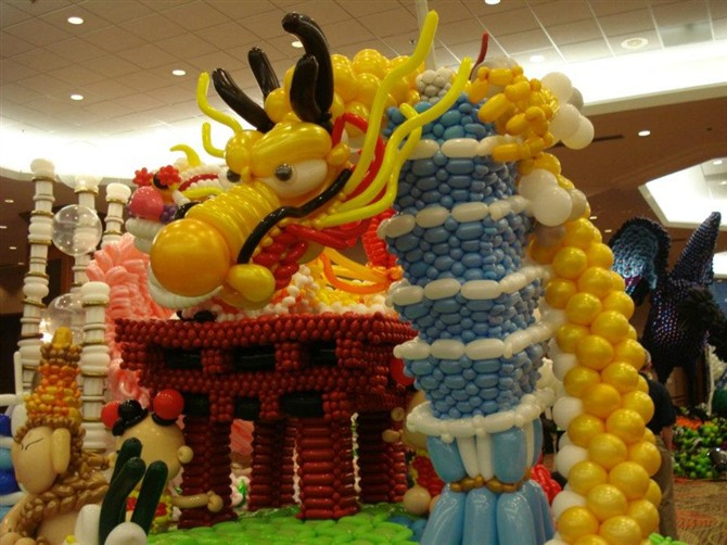 青岛制作气球拱门哪家好