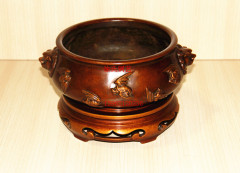 苏州地区销售优质的铜炉——金华铜香炉生产厂家