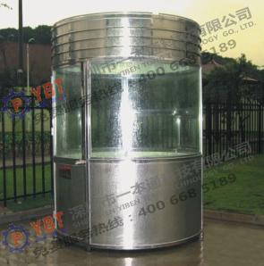 品質可靠的不銹鋼圓形崗亭B5當選一本通科技_不銹鋼崗亭供應