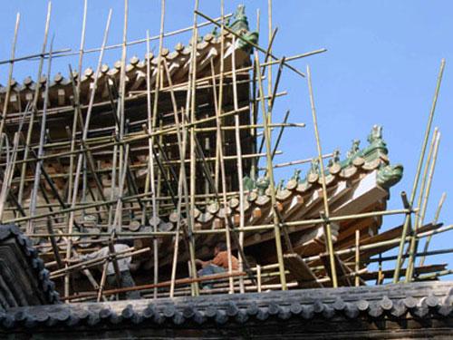 文物建筑保护特种油化