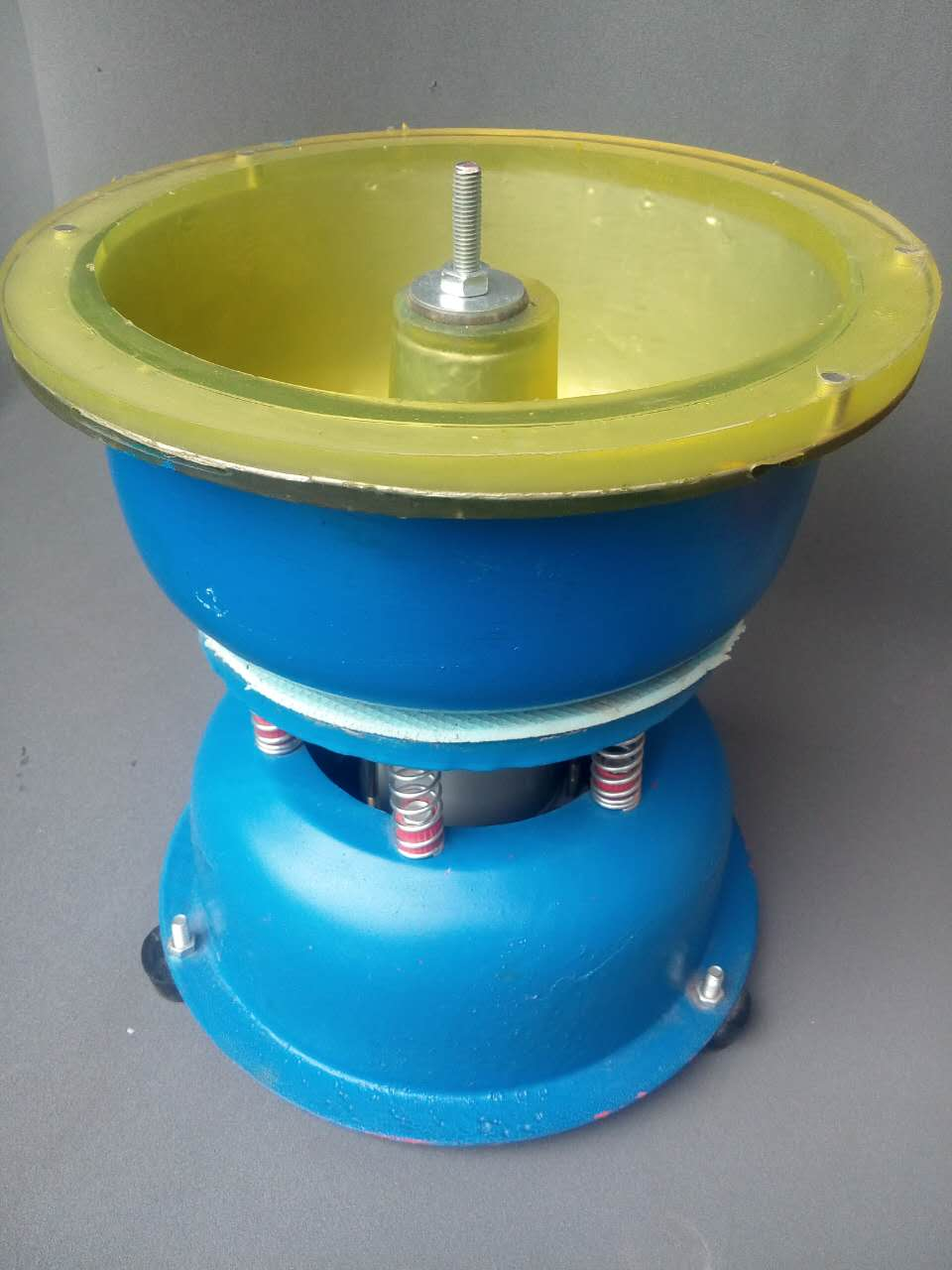 玉石机械 胶斗振桶抛光机 pu胶振机 胶斗抛光振机