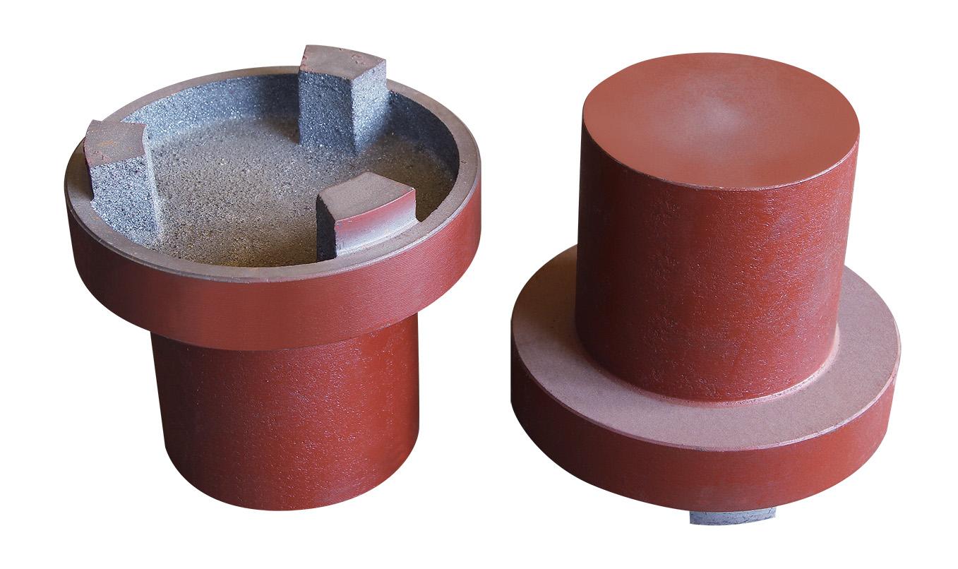 大成铸造供应高质量的联轴器——发电机铸件