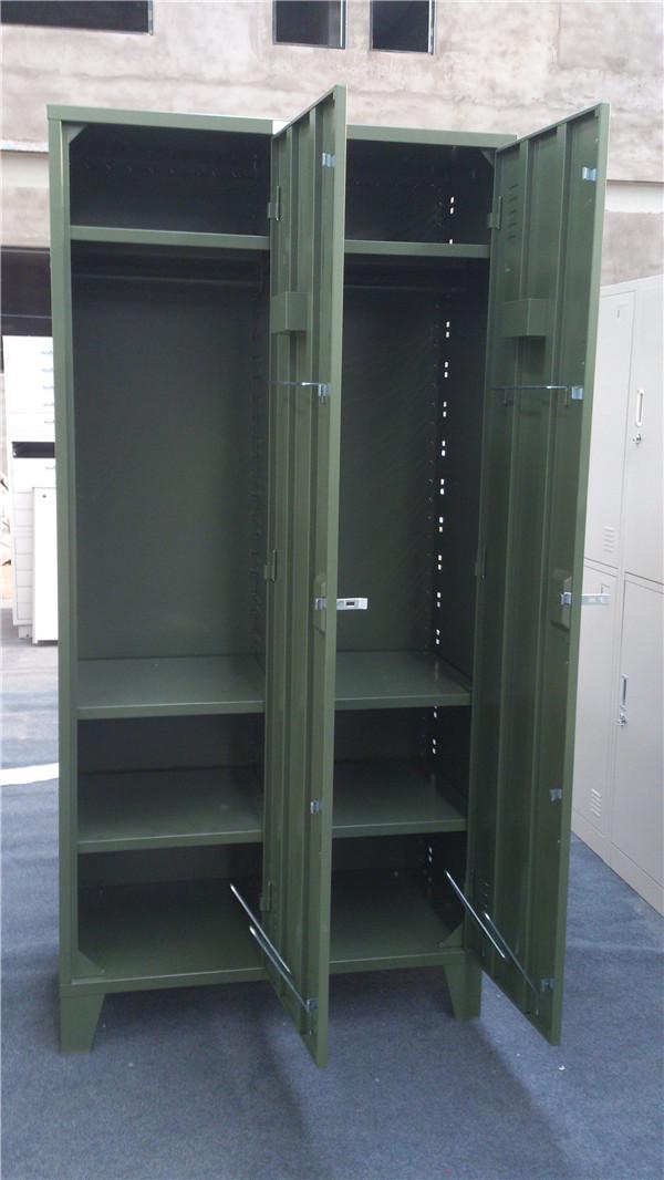 厂家直销洛阳联华部队专用钢制士兵更衣柜/储物柜