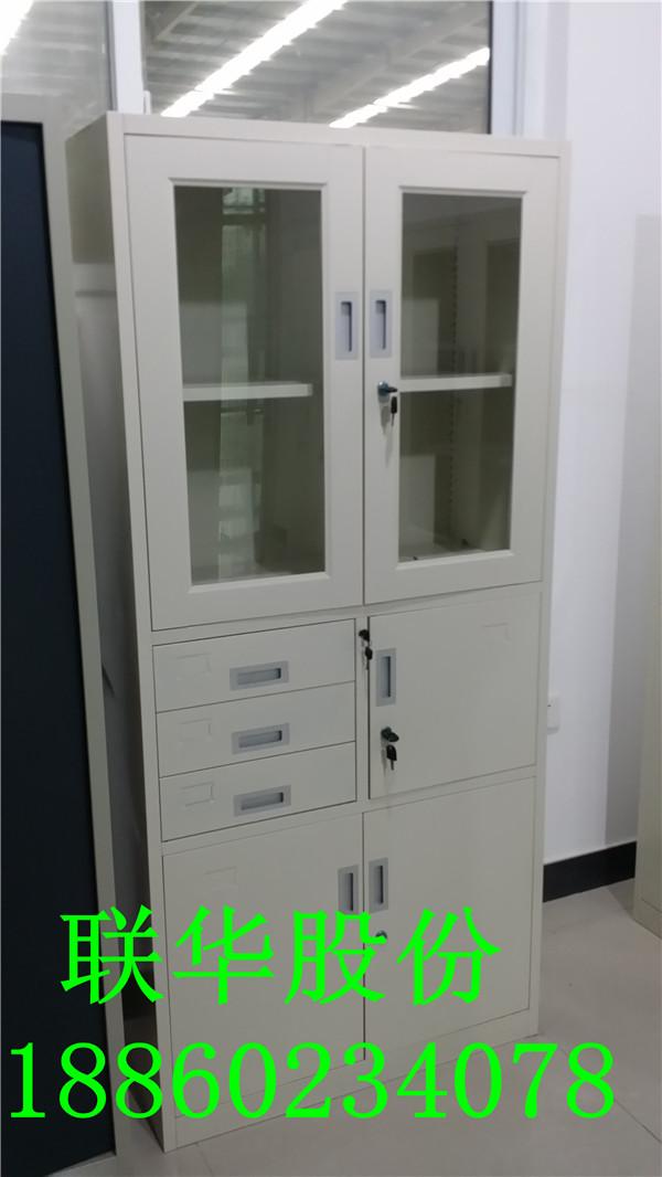 洛阳联华优质的钢制偏三斗内保器械柜,环保耐用的钢制办公家具