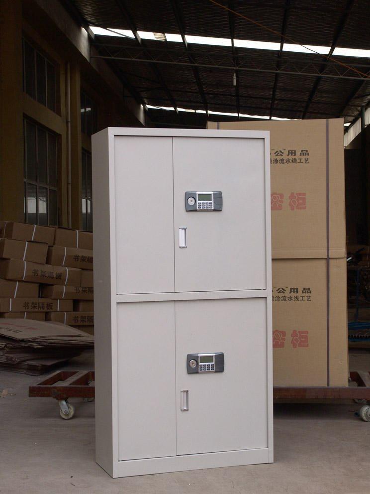 厂家直销洛阳联华钢制双节保密柜,外形美观耐用的保密柜