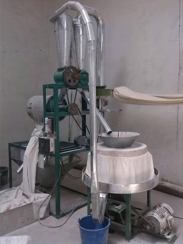 全自动石磨面粉单机