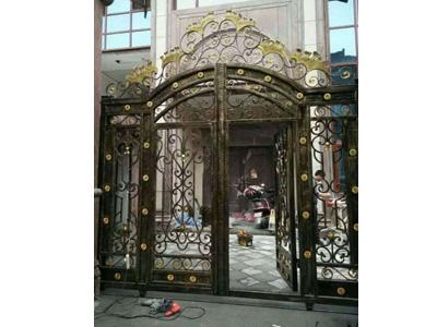 嘉峪关别墅铁艺门-哪儿有卖质量好的铁艺大门