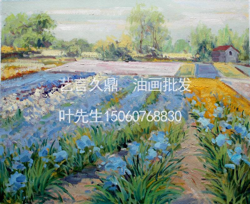 田园风景手绘油画中国油画批发-258.com企业服务平台