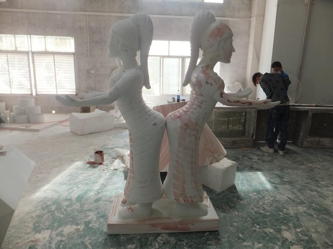 玻璃钢人物雕塑