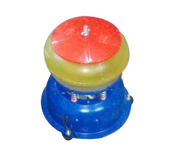 鼓型全纯PU胶研磨抛光机 宝石机械设备 圆形宝石震桶抛光机