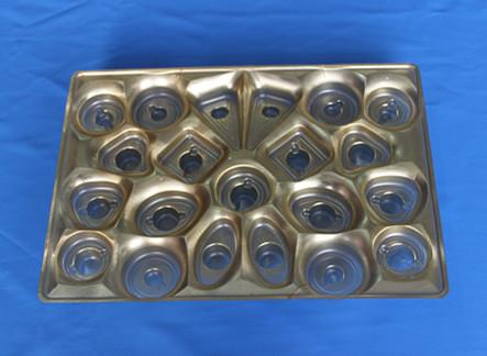 供应巧克力塑料包装盒 PET吸塑包装