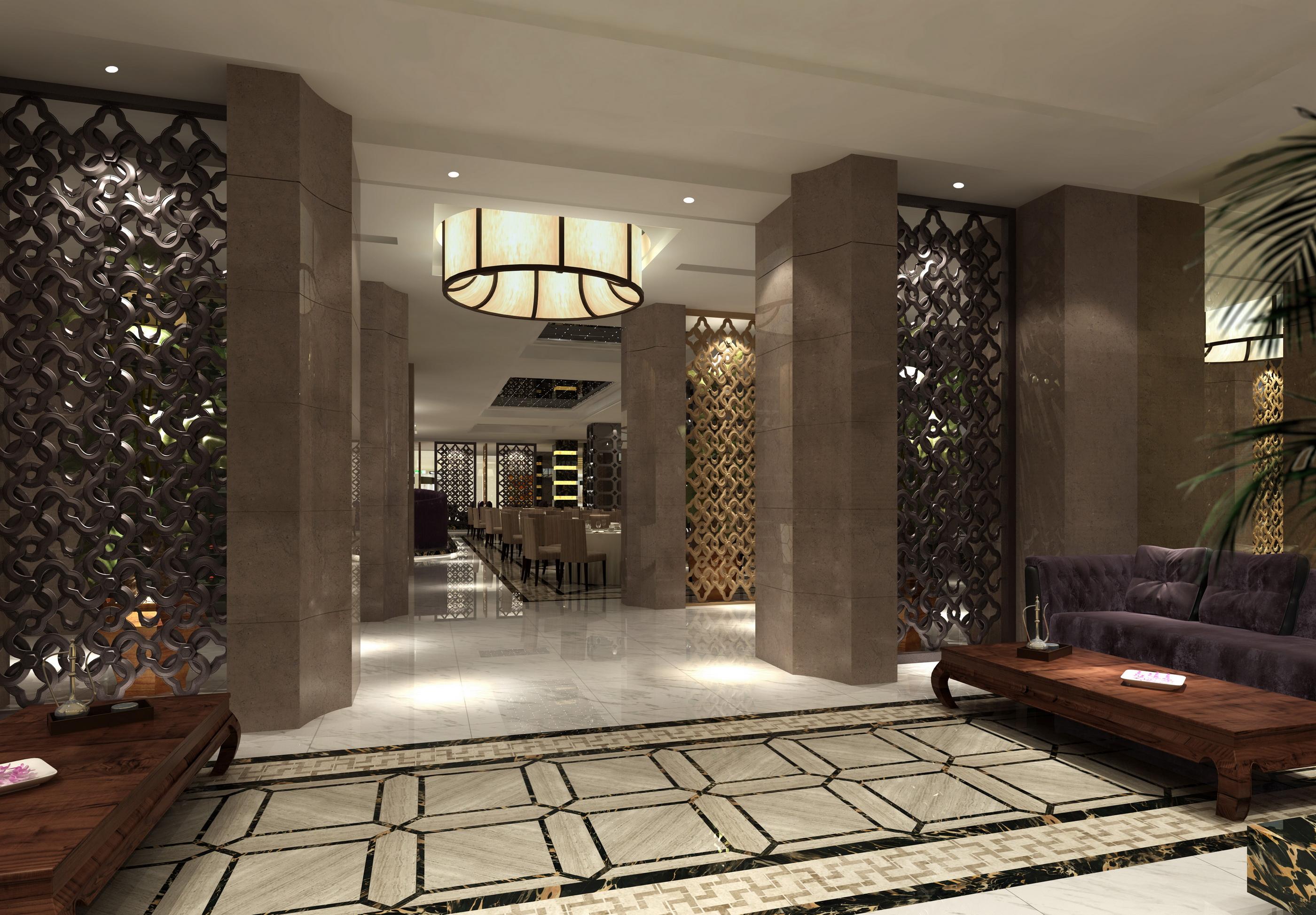 河北酒店裝修設計-具有口碑的酒店餐飲設計出自馮博室內設計