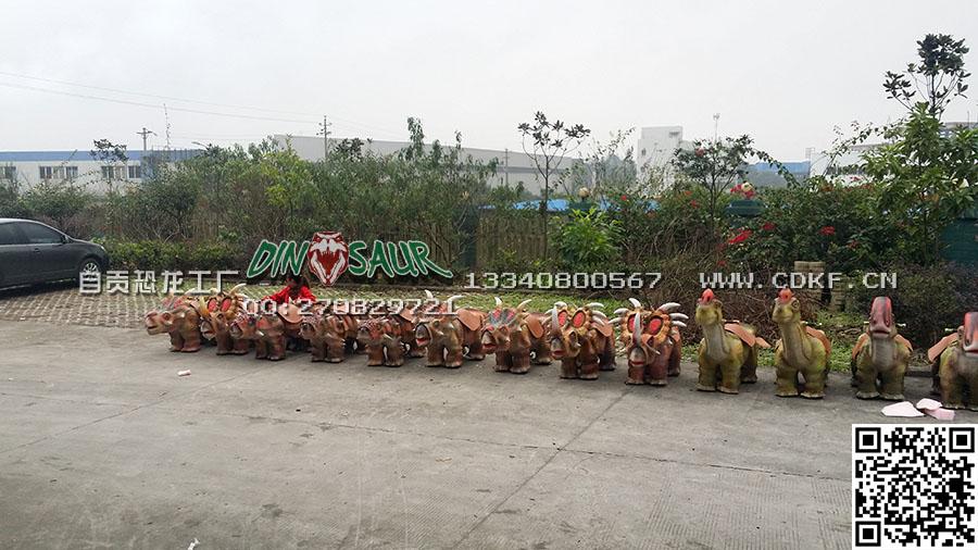 自贡超好的恐龙小童车-有价值的恐龙童车