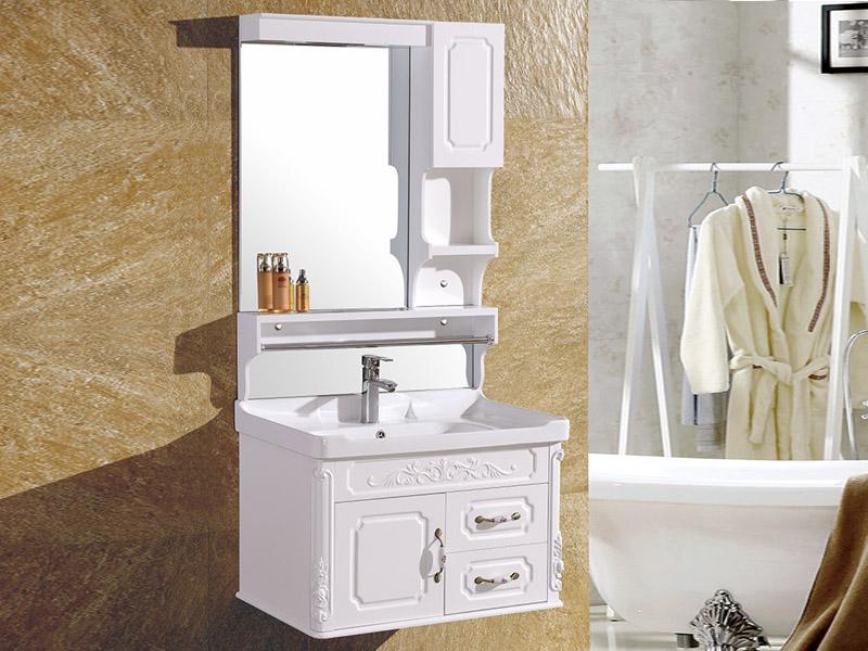 推荐材质优良的吊柜,便宜又实惠——白银欧式浴室柜批发