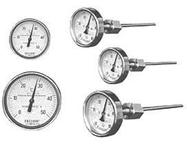 销售上海自动化仪表三厂轴向双金属温度计WSS-401