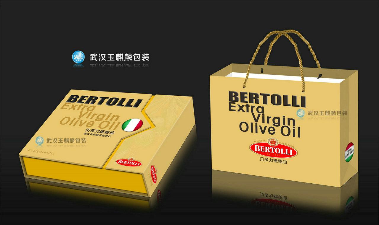 茶油礼盒包装及快餐食品包装盒