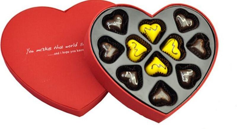 定制巧克力吸塑包装盒