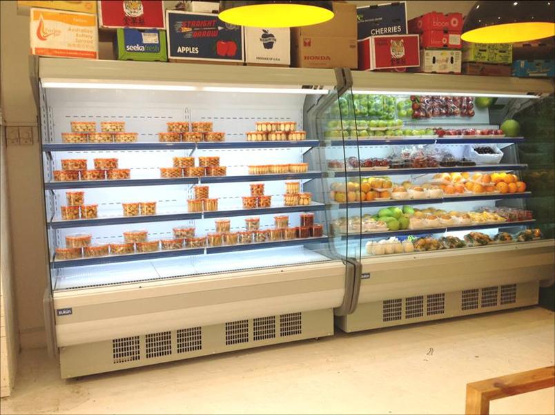 水果保鲜价格展示柜-供应厦门口碑好的风幕柜