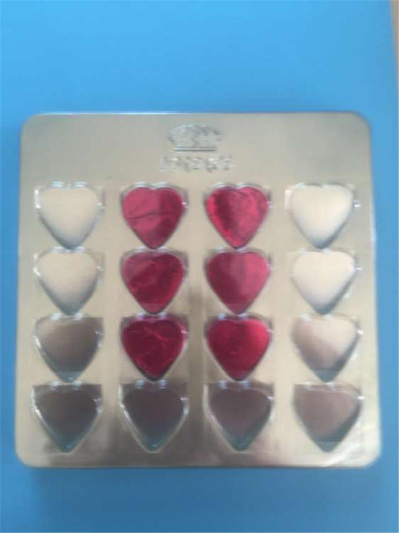 健新厂定制巧克力吸塑内托