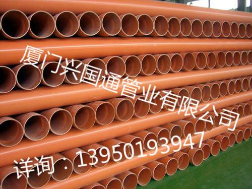 双平壁电力电缆护套管大小口径定制:兴国通管业供应